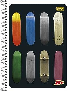 Caderno de 1 Matéria, Tilibra 11.477-4, Multicor, Pacote com 5 Unidades