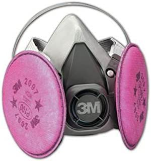 pink gas mask