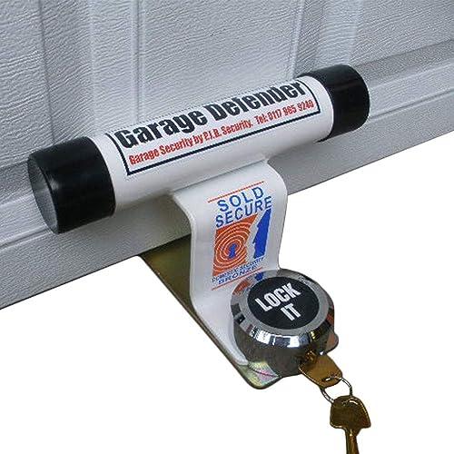 Euro-PJB321 Garage Defender Master + Cadenas BLANC