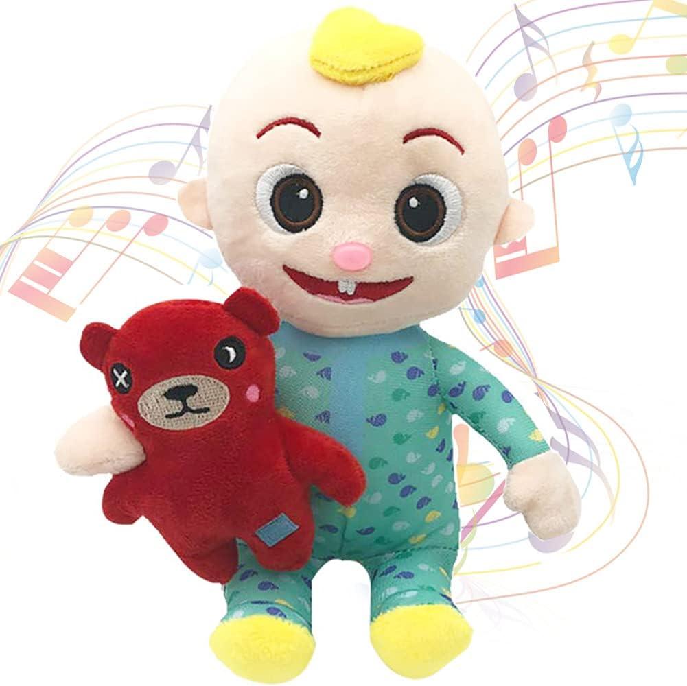 Baby Doll Plush Toy Education Max 61% OFF Singing Soft List price Stuffed Animal