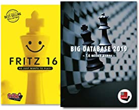 Fritz 16 Chess Playing Software Bundled with ChessBase Big Database 2019 Chess Software