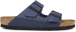 ビルケンシュトック アリゾナ シンセティックレザー サンダル ユニセックス UK40-26.0(細幅) ブルー