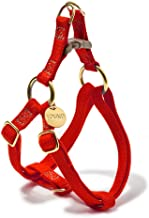 product image for Found My Animal Red Cotton Cat & Dog Harness, Small