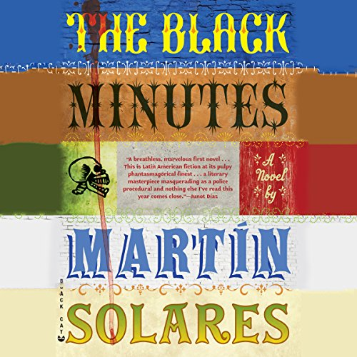 The Black Minutes audiobook cover art