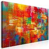 murando Cuadro Mega XXXL Abstracto 200x100 cm Cuadro en Lienzo en Tamano XXL Grande Gigante Imagen para Montar por uno Mismo Decoración De Pared Impresión DIY Colorido a-A-0538-ak-e