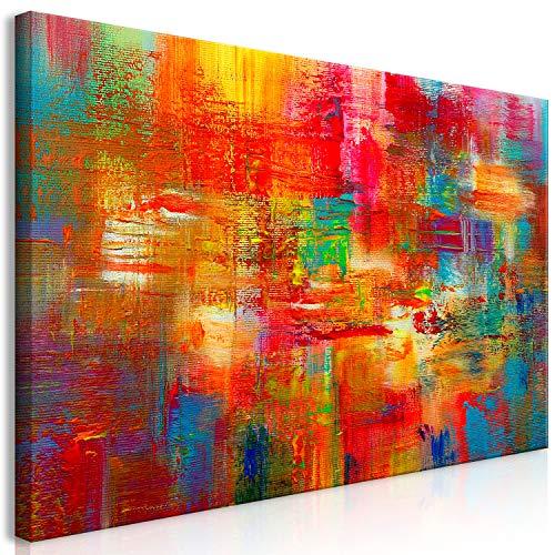 murando Wandbild Mega XXXL Abstrakt 160x80 cm Einteiliger XXL-Format Kunstdruck zur Selbstmontage Leinwandbilder Moderne Bilder DIY Wanddekoration Wohnung Deko bunt...