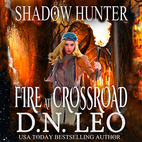 Fire at Crossroad audiobook cover art