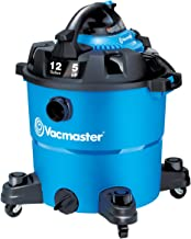 Vacmaster VBV1210, 12-Gallon 5 Peak HP Wet/Dry Shop Vacuum with Detachable Blower, Blue