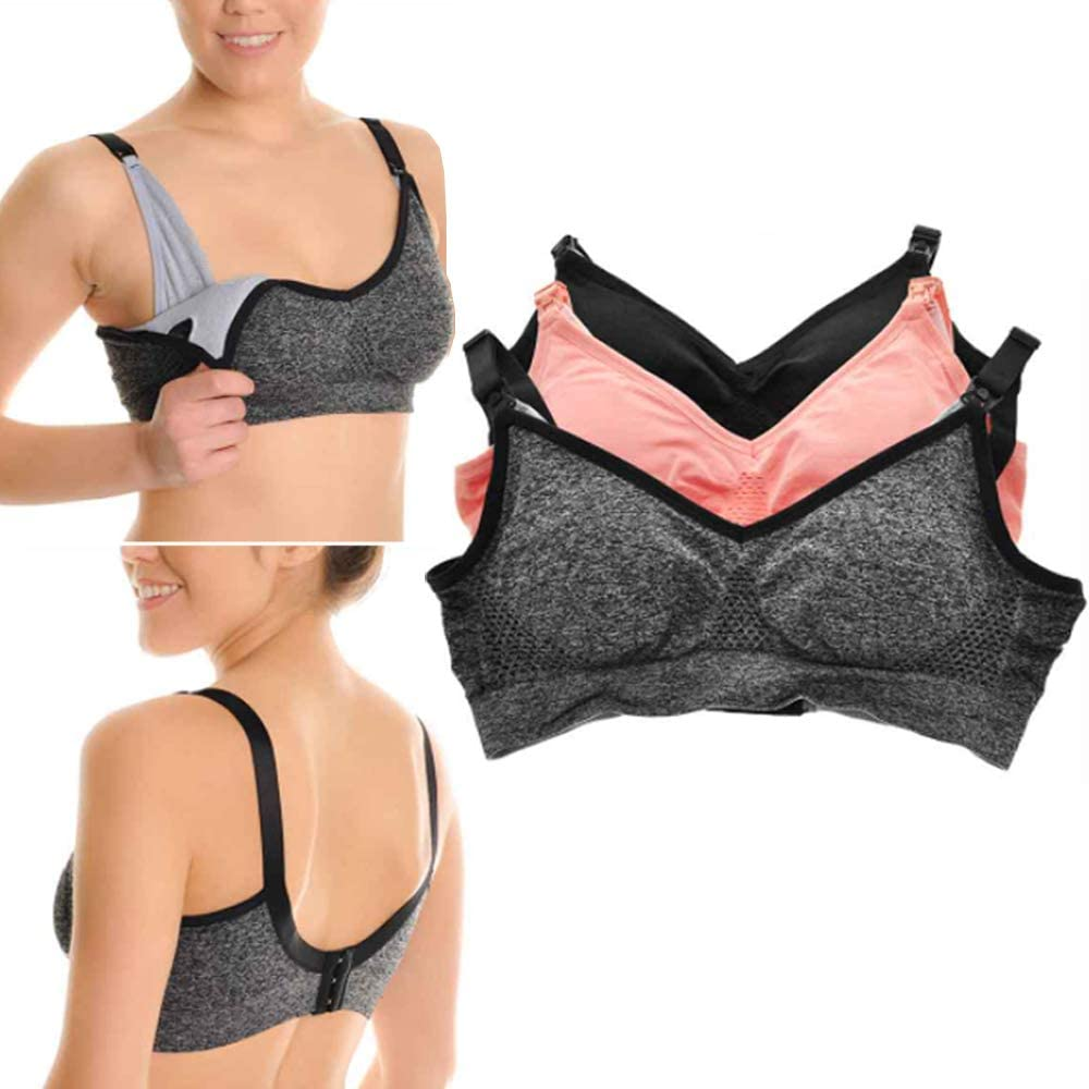 6 Pack Choice Challenge the lowest price of Japan ☆ Breastfeeding Nursing Bra Seamless Mat Free Wire Build in