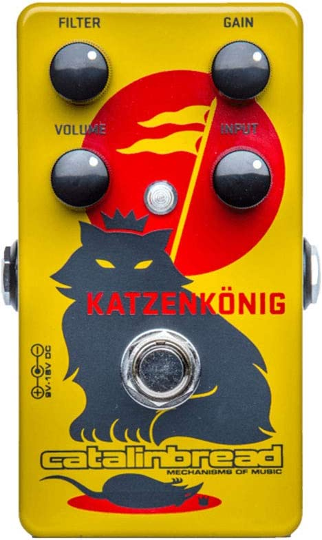 Catalinbread Katzenkonig 新作アイテム毎日更新 流行のアイテム Distortion Pedal Guitar