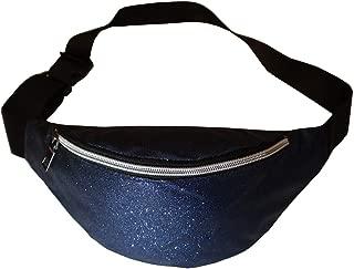 Prefer To Life Glitter Fanny Pack Lightweight Bum Bag Sparkly Waist Bag Women Shine Belt Purse