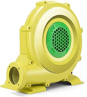 Costzon Air Blower, Pump Fan Commercial Inflatable Bouncer Blower, Perfect for Inflatable Bounce House, Jumper, Bouncy Castle (950 Watt 1.25HP) Yellow
