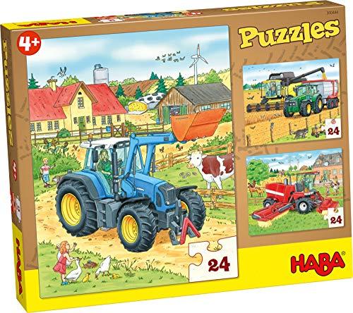 HABA 300444 Puzzles Traktor und Co.