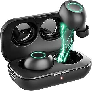Bluetooth イヤホン ワイヤレス イヤホン 驚き超ミニサイズ 開蓋自動ペアリング Bluetooth5.0+EDR搭載 完全 ワイヤレス イヤホン マグネット開閉 自動ON/OFF ブルートゥース イヤホン ボリューム調節可能 片耳&両耳とも対応 マイク付き PSE&MSDS&技適認証済み 防水防汗 Siri対応 (S8)