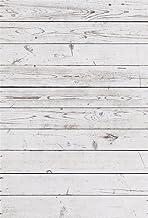 YongFoto 1x1,5m Vinilo Fondo de Fotografia Tablero de Textura Rústica de Madera Blanco Viejo Resistido Telón de Fondo Photo Booth Infantil Party Banner Niños Photo Studio Props