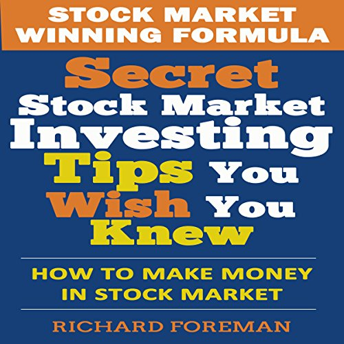 Stock Market Winning Formula audiobook cover art