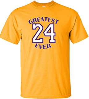 The Silo Gold Los Angeles Kobe Greatest Ever T-Shirt