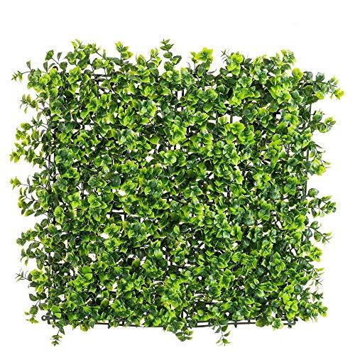 Panel Artificial de Exterior para jardín Vertical de Enredadera Verde 50x50 cm - LOLAhome
