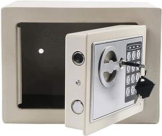 LJJSMG Home Safes Hotel Safes for Money Jewelry Cash Small Digital Cabinet Safe Box for Storing Valuables (Color : White, ...