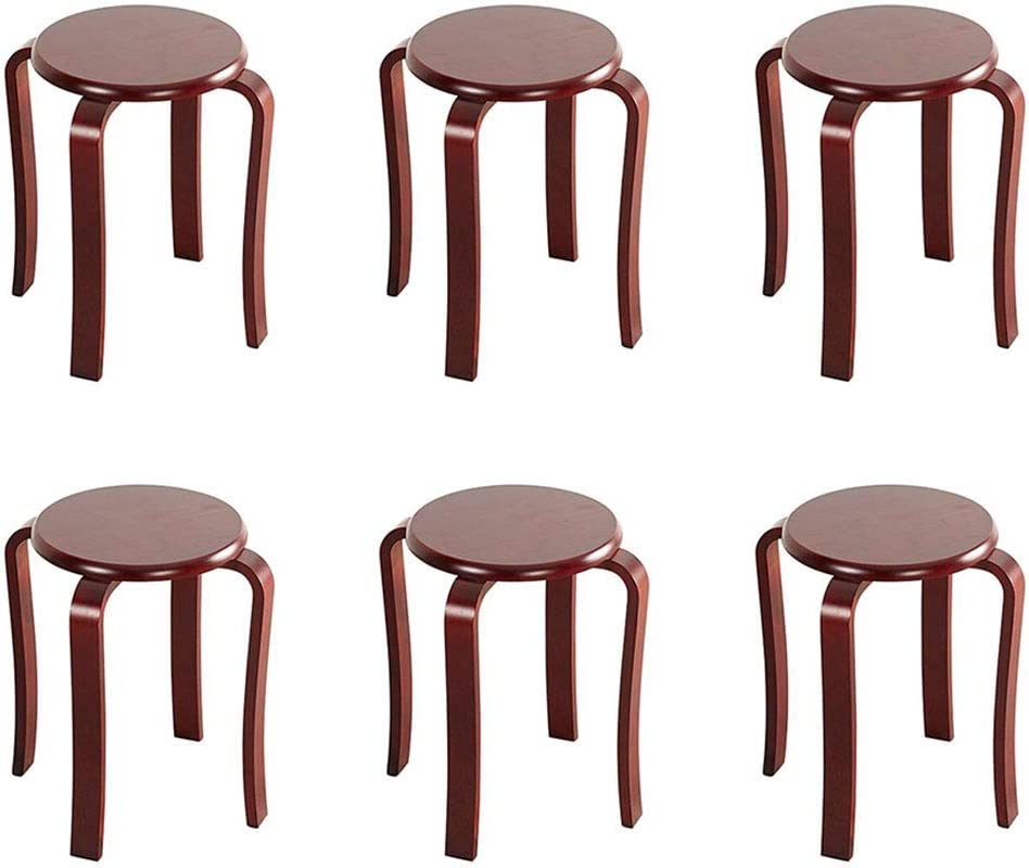 free Dall Table Stool Solid Wood S Backless Dining Round Stools Max 77% OFF