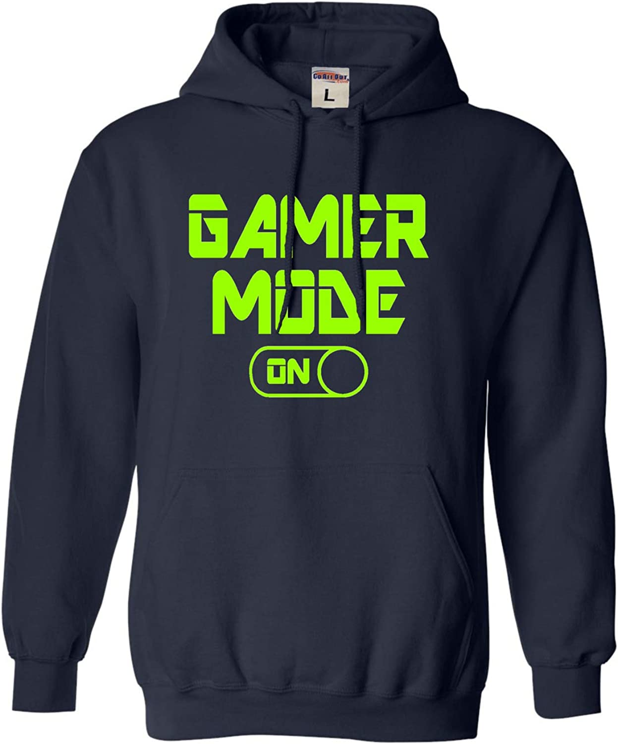 Go All Out Adult and Youth Gamer Mode On Funny Gaming Sweatshirt
