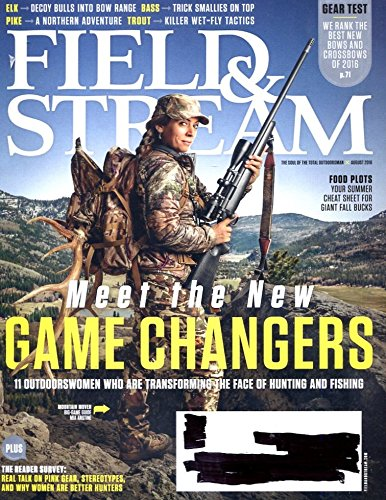 Field & Stream August 2016 Meet the New Game Changers