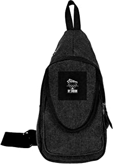 Anchorman Inspired Sex Panther Cologne, Trucker Cap Traveling Chest Bags For Men&Women Multipurpose Casual Daypack Hiking Shoulder Bag