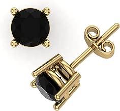 Best 14 karat diamond stud earrings Reviews