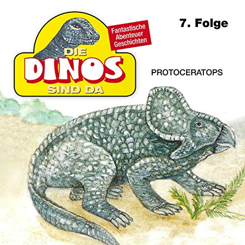 Protoceratops cover art