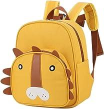 Kids School Backpack,Animal Schoolbag for Kids Sized for Kindergarten,Primary Students,Yellow