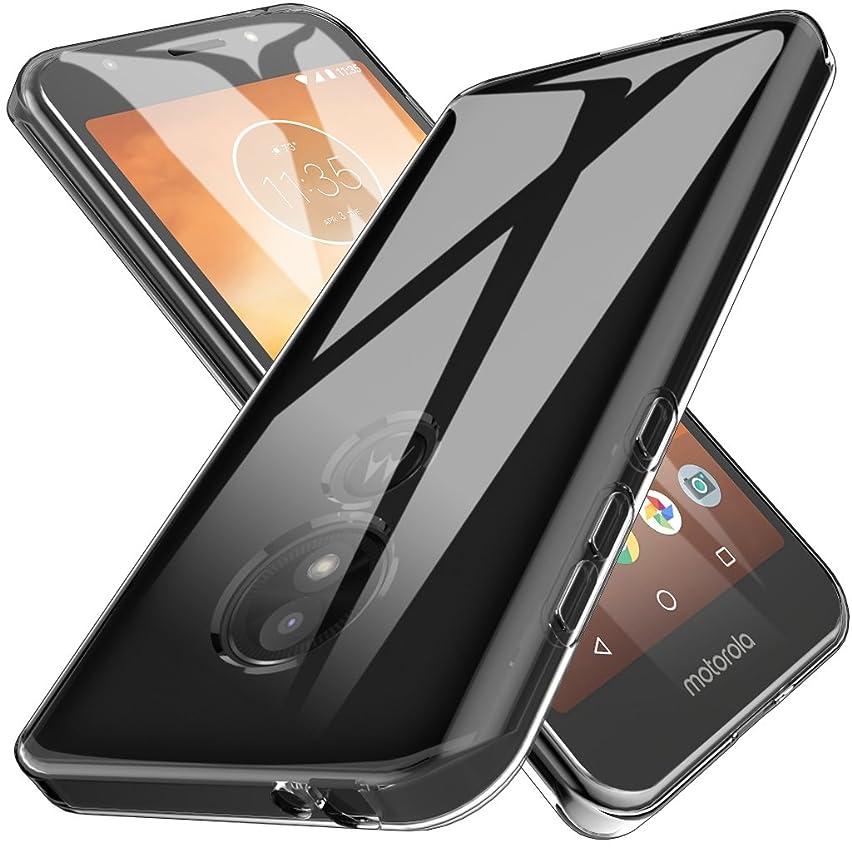 LK Case for Moto E5 Play, Moto E5 Cruise, Ultra [Slim Thin] Scratch Resistant TPU Rubber Soft Skin Silicone Protective Case Cover for Motorola Moto E5 Play - Clear