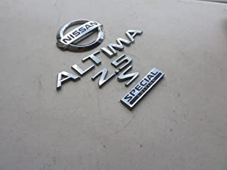 03-05 Nissan Altima 2.5 S Special Edition 84896-ZG100 Rear Trunk Roundel Badge