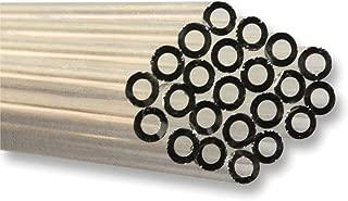 Ginsberg Scientific 6MMSLT-24 Flint Glass Tubing, 6mm OD x 4mm ID, 1 lb. Pack