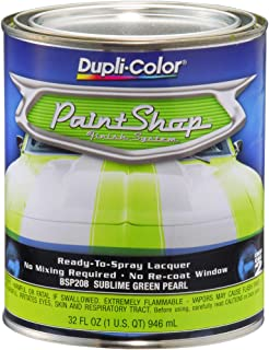 Dupli-Color BSP208 Sublime Green Single Pearl Paint Shop Finish System