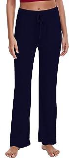 Lucyme Pantalon de Sport Femmes Yoga Long Pantalon de Pilates /élastique Sarouel Bloomers Pantalon de surv/êtement de Sport Training