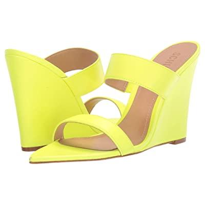Schutz Soraya (Neon Yellow) Women