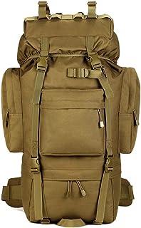 YUHAN Vandringsryggsäck, 65L taktisk ryggsäck militär armé strid ryggsäck MOLLE vandring ryggsäck skor ficka vandring rygg...