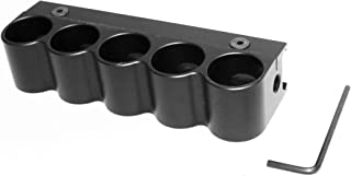 Trinity 5 Round Remington 870 Pump Shell Holder Shells Carrier Hunting Accessory Holder 12 Gauge Tactical Shell Pouch Ammo Shell Round slug Carrier Reload Adapter Target Range Gear.