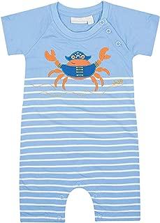 JoJo Maman Bebe Baby Boys' Crab Romper