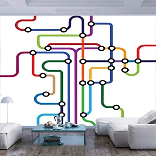 Best underground map wallpaper Reviews