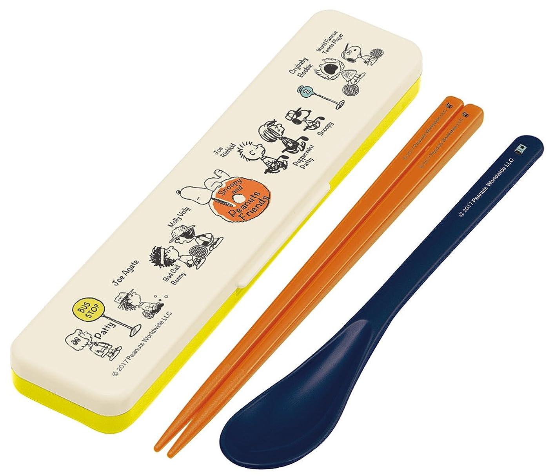 主要な応用気怠いスケーター 弁当用箸 コンビセット スヌーピー ともだち PEANUTS 日本製 18cm CCS3SA