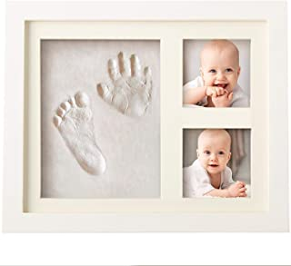 Bubzi Co Baby Footprint Kit & Handprint Kit for Baby Girl Gifts & Baby Boy Gifts, Unique Baby Shower Gifts, Personalized Baby Gifts for Baby Registry, Keepsake Box for Room Wall Nursery Decor