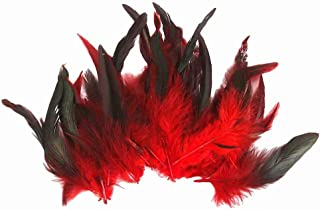 50 Pcs Beautiful Rooster chicken tail Feathers 12-18cm / 4-7inch
