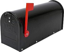 PrimeMatik - US Mail Aluminium mailbox voor Black American Postal Mail