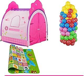Game Tent-Jack Juego de niños Tienda de Juguete casa de Juego Interior y al Aire Libre temprana niñez niño niña casa casa de Juguetes de bebé 100 * 112 cm Color : #1