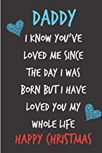 Daddy I Know You've Loved Me: From Unborn Baby Newborn Notebook - Heartfelt Journal Blank Book for New Dad Father To Be - Anniversary Birthday ... Alternative to a Greeting Card Exchange )
