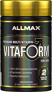 AllMax Nutrition Vitaform Pack of 60 Tablets