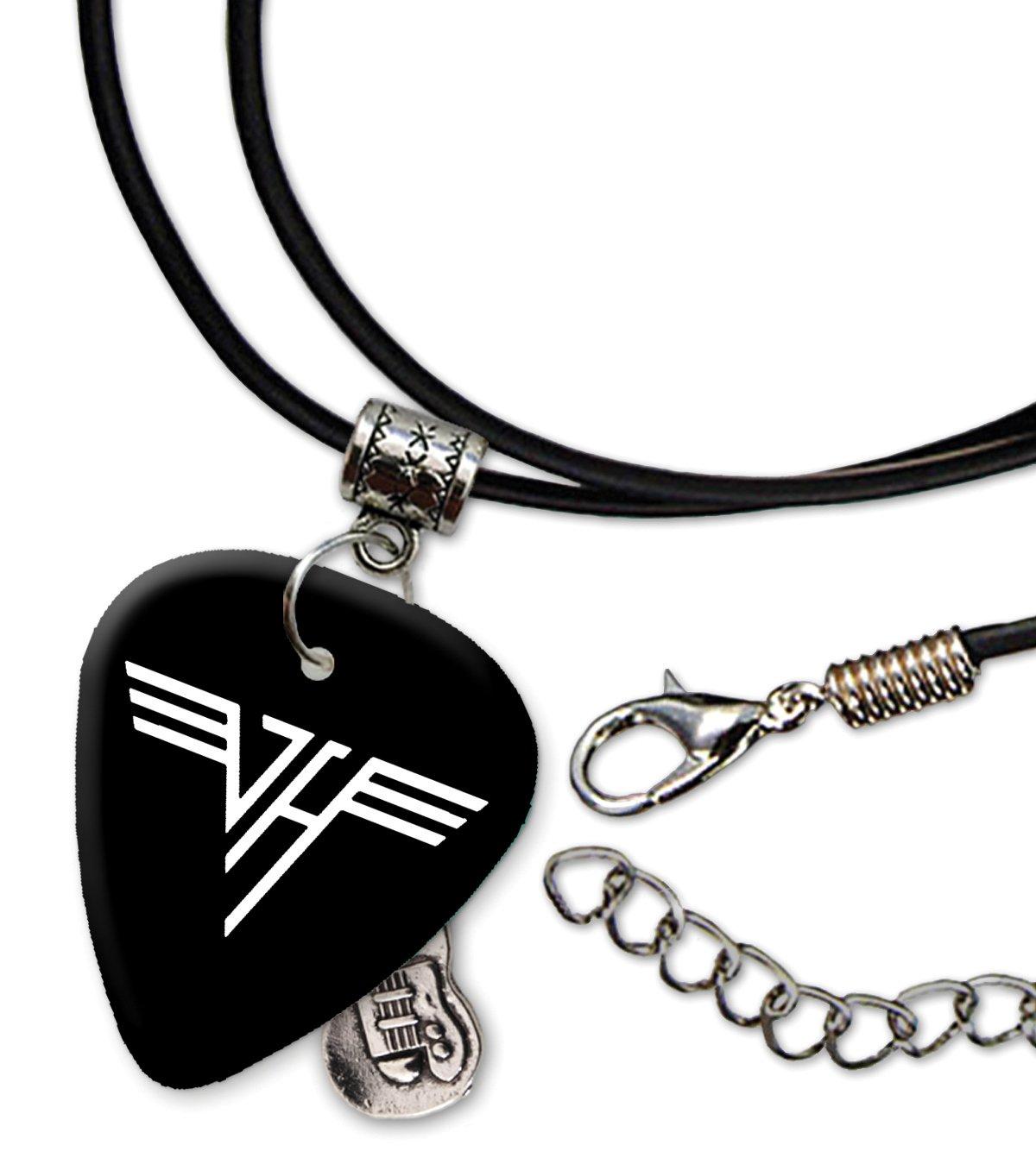 Van Halen Band Logo Collar de cordón de púa de guitarra (H ...