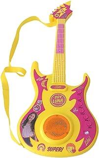 Sou Luna Guitarra Multikids Amarelo