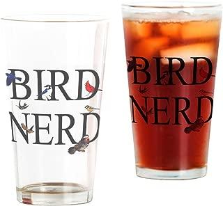 CafePress Bird Nerd Pint Glass, 16 oz. Drinking Glass